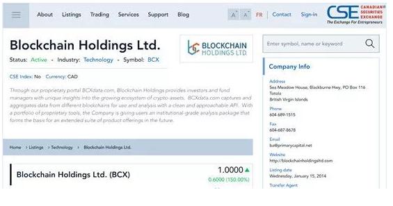 6446d860dbbfe540e9e2 48 - 为区块链企业提供上市的交易所-加拿大证券交易所(CSE)-香港上市